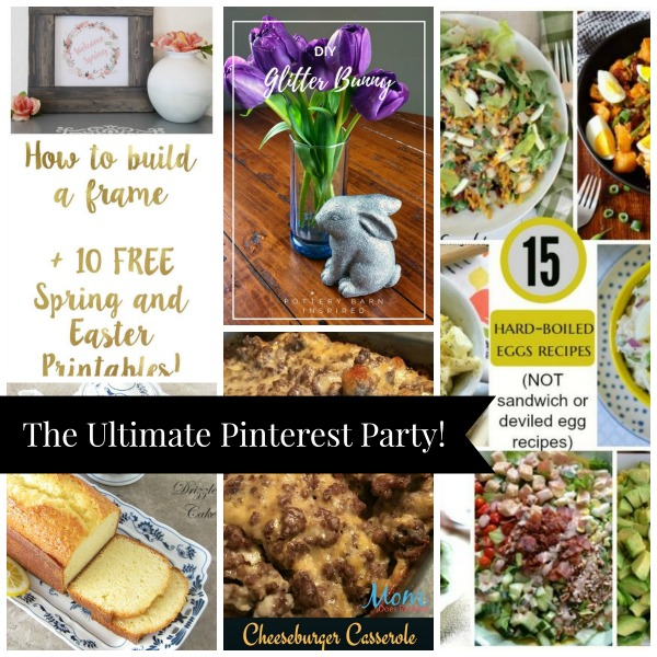 The Ultimate Pinterest Party, Week 144