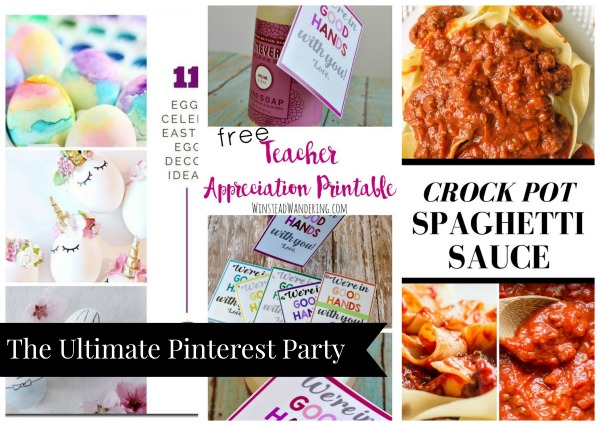 The Ultimate Pinterest Party, Week 145