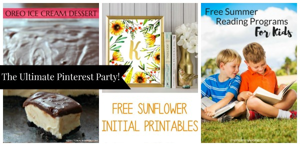 The Ultimate Pinterest Party, Week 149