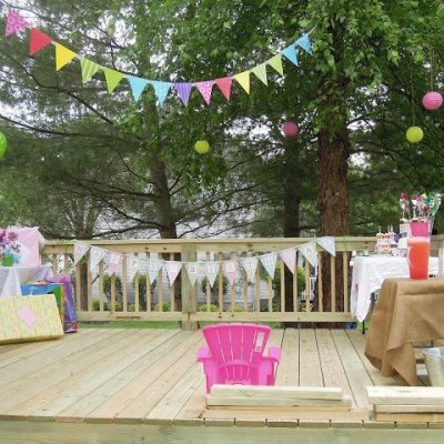 The First Post and A Polka-Dot Pinwheel Party