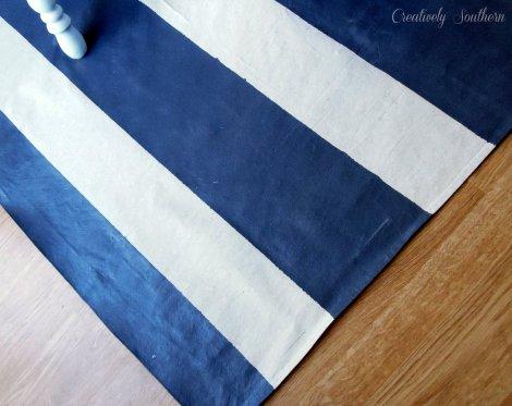 diy floor cloth