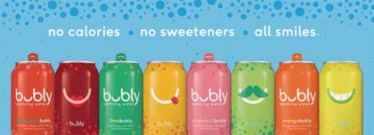 PepsiCo Launches bubly To Sparkling Water Category