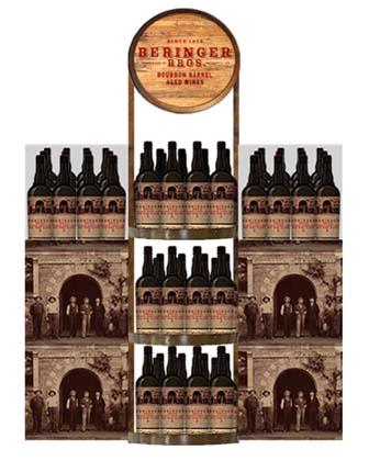 Beringer Bros. Bourbon Barrel Aged Wines Introduced