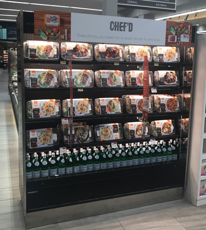 Chef'd Meal Kits Now Available In Retail Stores Nationwide