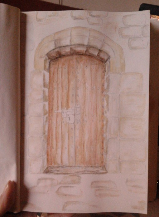 Montjuic Castle in Barcelona - a door I captured on my trip this summer - http://creativemag.ro by Cristina Parus