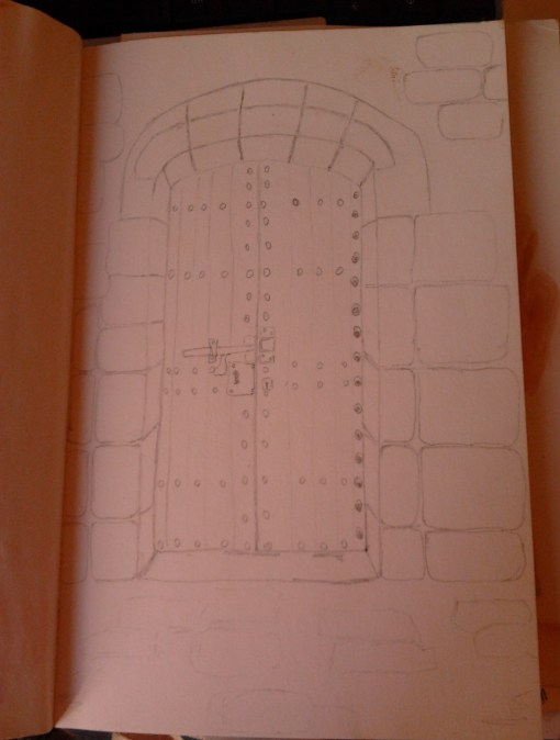 Montjuic Castle in Barcelona - a door I captured in my trip this summer - http://creativemag.ro by Cristina parus