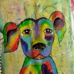 Whimsical: animale colorate {video}