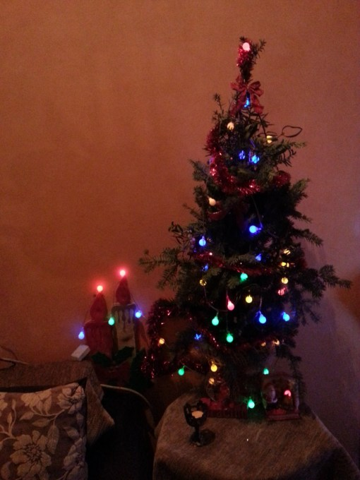 Happy New Year Christmas tree 2014 @ creativemag.ro
