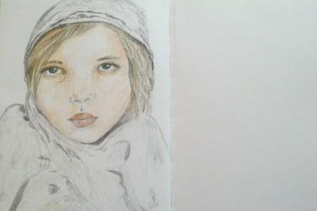 10/30 portrait challenge by Cristina Parus @ creativemag.ro