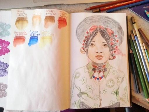12/30 portrait challenge by Cristina Parus @ creativemag.ro