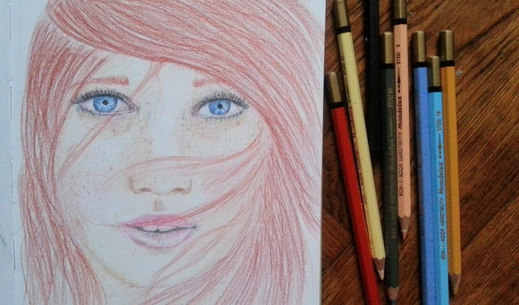 16/30 portrait challenge by Cristina Parus @ creativemag.ro