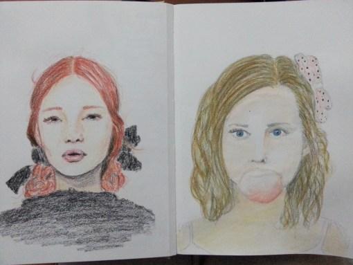 22/30 portrait challenge by Cristina Parus @ creativemag.ro