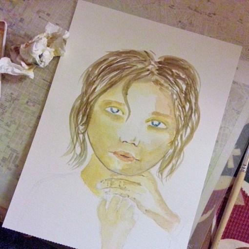 23/30 portrait challenge by Cristina Parus @ creativemag.ro