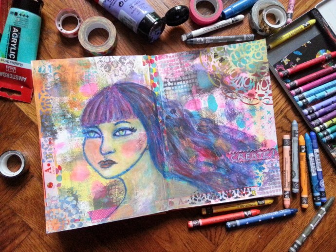 25/30 portrait challenge by Cristina Parus @ creativemag.ro