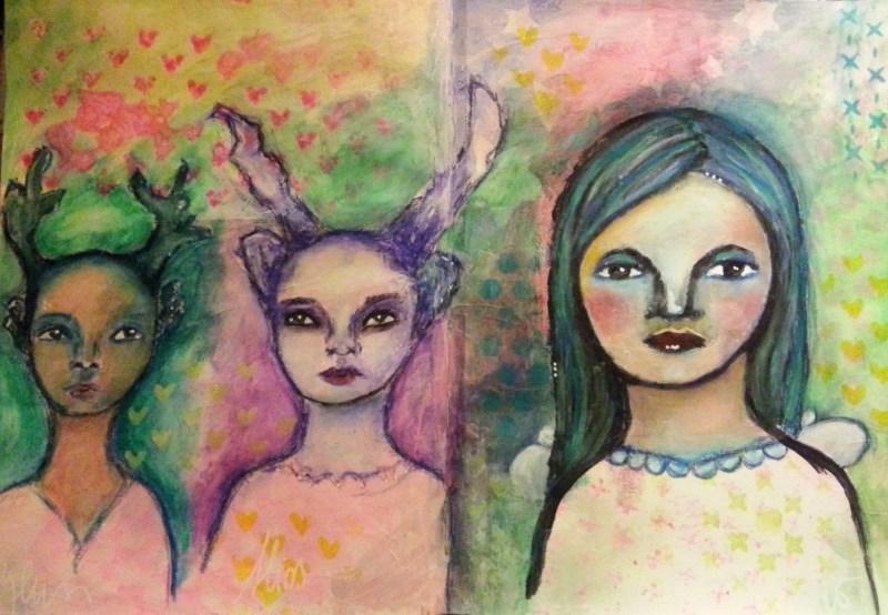 26/30 portrait challenge by Cristina Parus @ creativemag.ro