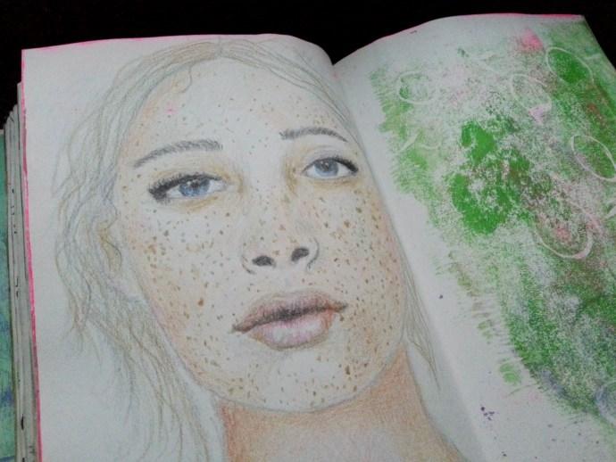 9/30 portrait challenge by Cristina Parus @ creativemag.ro