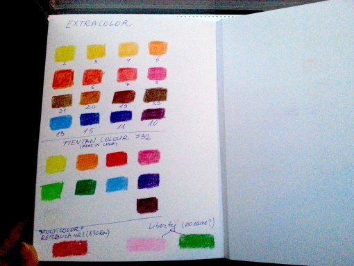 EXTRACOLOR color chart @ creatvemag.ro
