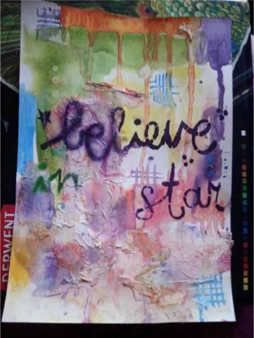 believe in your art by Cristina Parus @ creativemag.ro