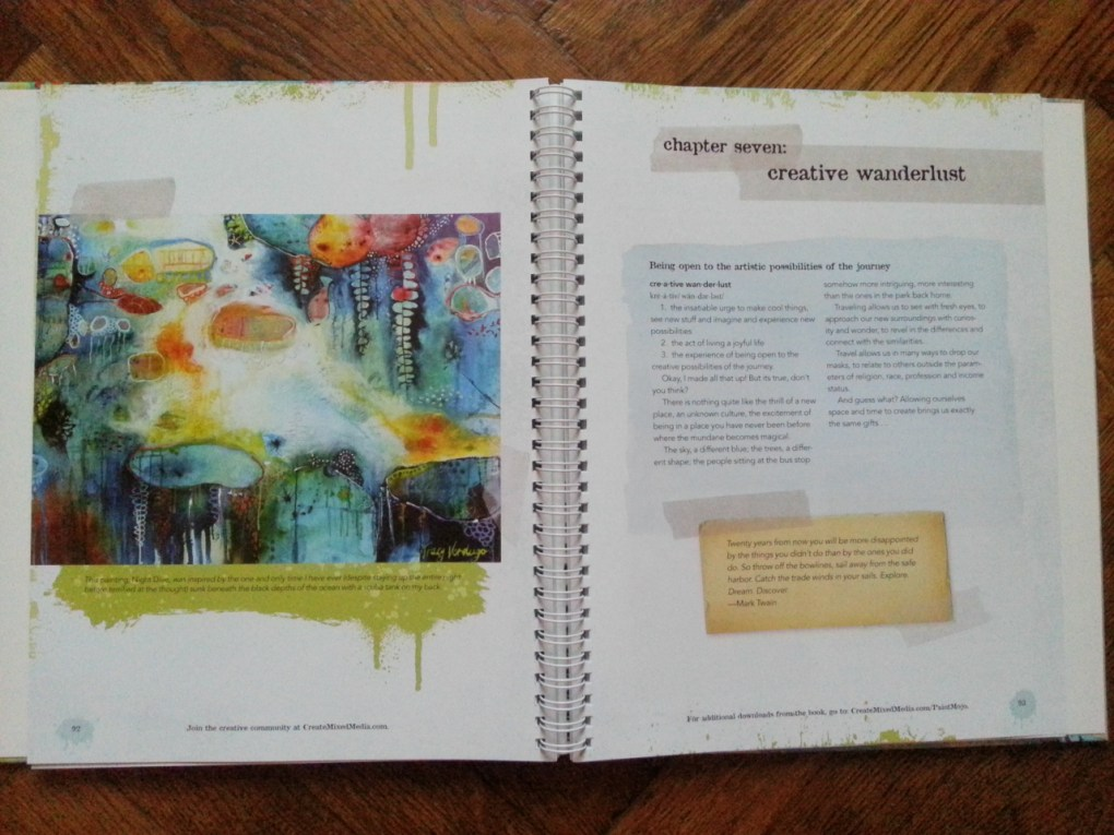 creative wanderlust - Paint Mojo - Tracy Verdugo book excerpt @ creativemag.ro