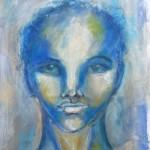 Art Journaling Mixed Media Portrait