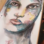 Watercolor – I'm not perfect