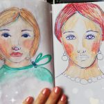 Two whimsical sketches
