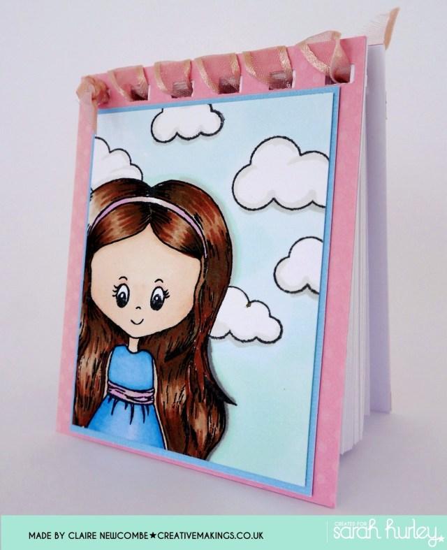 Sarah Hurley Charm Street Cutie notebook