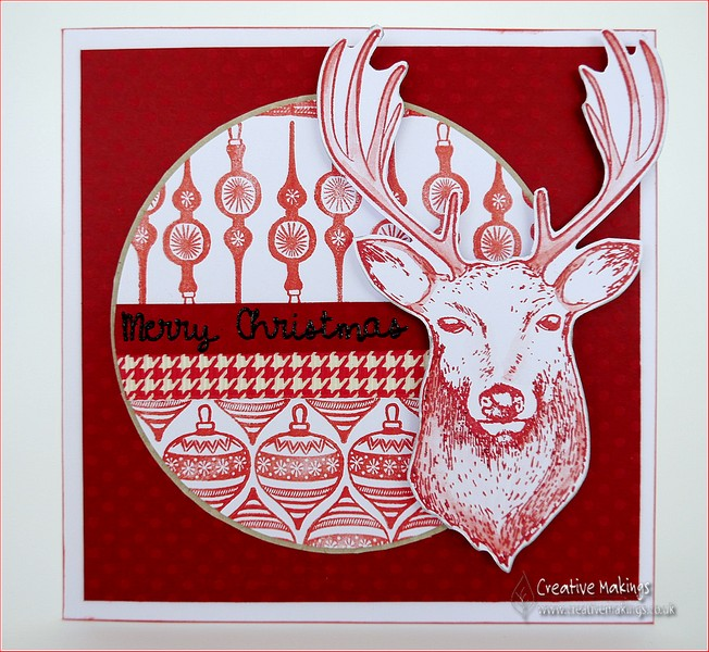 Nordic Style Stamped Christmas cards – Creative Stamping 27