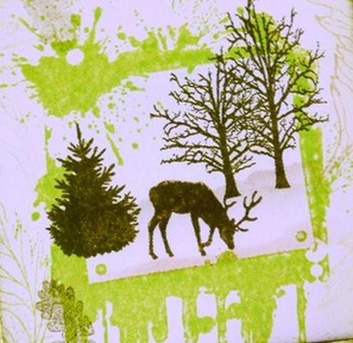 IndigoBlu, Winter Scene Picture Frame Tag