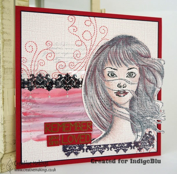 Becca, by IndigoBlu Artcard