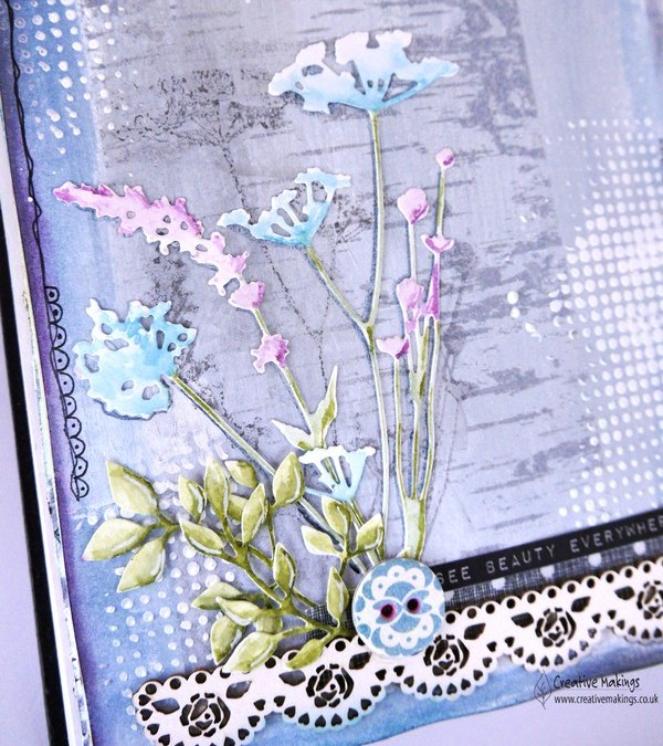 Tim Holtz Wild Flowers – for Imagine Design Create