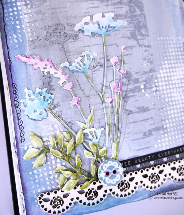 Tim Holtz Wild Flowers – for Imagine Design Create