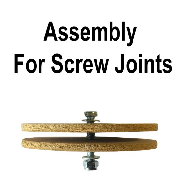 Assembly instructions teddy bear joint with screw