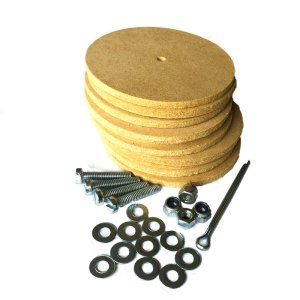 Soft Toy Joints Discs with Screws for Teddy Bear Making