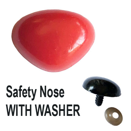 Red Triangle Safety Nose