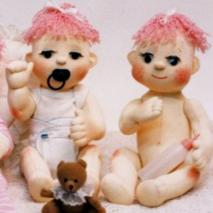 Winky Life Size Baby Cloth Doll Nerina Roberts