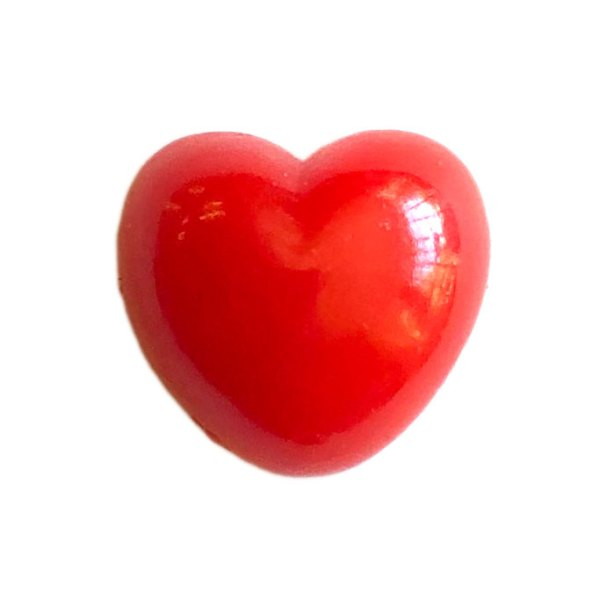 Red Safety Heart for Soft Toy Making