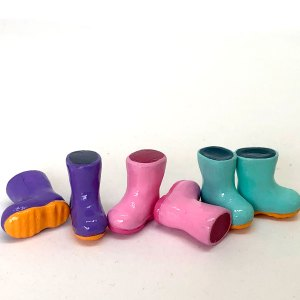 Dollhouse Toddler Rubber Boots