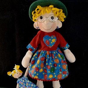 Dorothy and Dot Cloth Doll Pattern Nerina Roberts