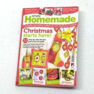 dollhouse miniature magazine christmas