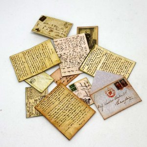 Letters and Post Cards for your dollhouse South African miniatures