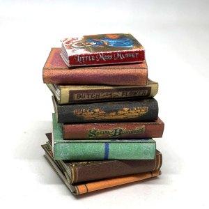 Mini Books for Dolls Buy Online 1:12 Scale Dollhouse Miniature Books