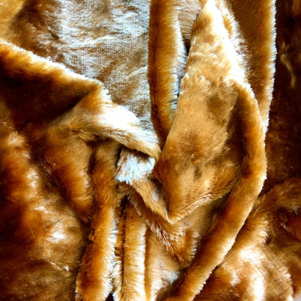 9mm Russet Rayon Schulte Fabric Germany for Teddy Bears