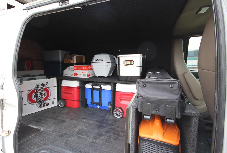 Converted Cargo Van Houses Tailgating Fun