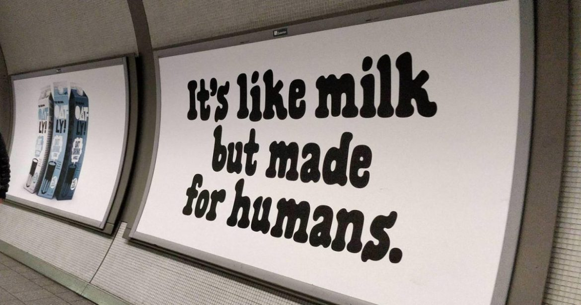 Why Oatly got people thinking differently about vegan milk alternatives |  Creative Moment