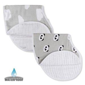 all-in-one burp cloths and baby bibs