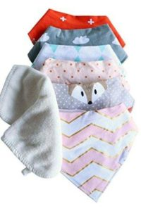 baby bibs with washcloths