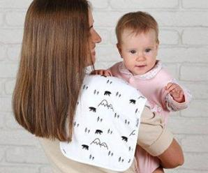 10 Best burp cloths to keep you and baby clean 2019