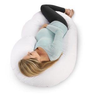 C-shaped pregnancy pillow