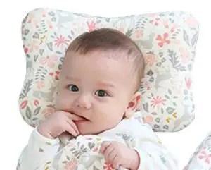 Baby flat head pillow